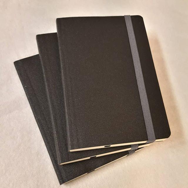 Notatbøker i lommeformat.